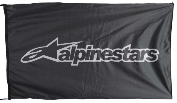 Flag  Alpinestars Landscape Black Flag / Banner 5 X 3 Ft (150 x 90 cm) Alpinestars