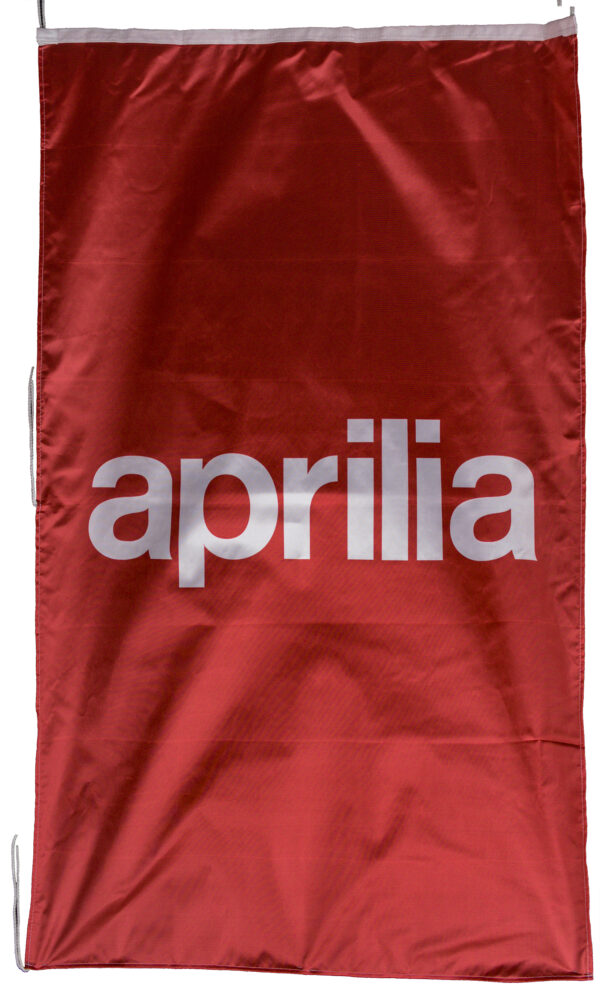 Flag  Aprilia Vertical Red Flag / Banner 5 X 3 Ft (150 x 90 cm) Aprilia