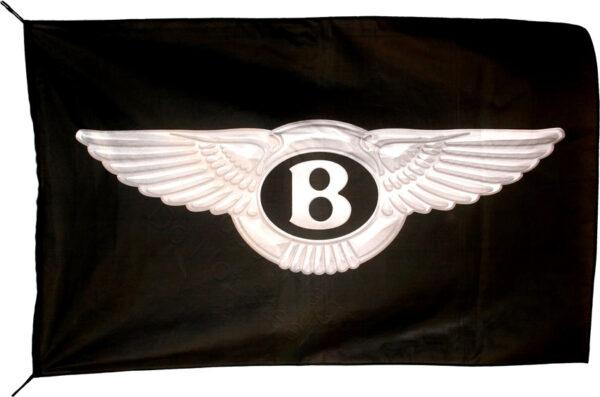 Flag  Bentley Landscape Black Flag / Banner 5 X 3 Ft (150 x 90 cm) Automotive Flags