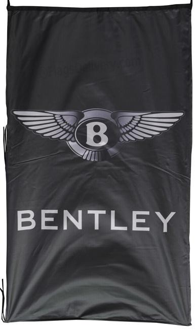 Flag  Bentley Vertical Black Flag / Banner 5 X 3 Ft (150 x 90 cm) Automotive Flags