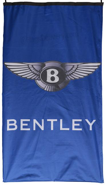 Flag  Bentley Vertical Blue Flag / Banner 5 X 3 Ft (150 x 90 cm) Automotive Flags