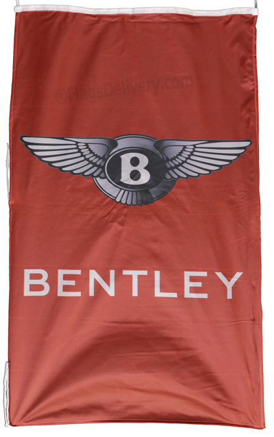 Flag  Bentley Vertical Red Flag / Banner 5 X 3 Ft (150 x 90 cm) Automotive Flags