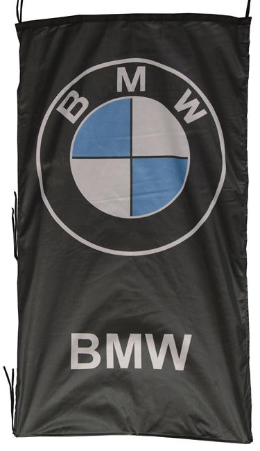 Flag  BMW Vertical Black Flag / Banner 5 X 3 Ft (150 x 90 cm) Automotive Flags