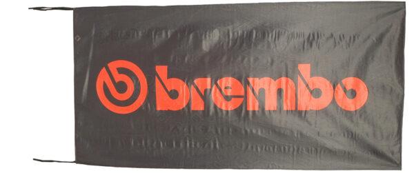 Flag  Brembo Landscape Black Flag / Banner 5 X 3 Ft (150 x 90 cm) Automotive Flags