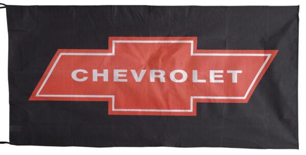 Flag  Chevrolet Landscape Black Red Flag / Banner 5 X 3 Ft (150 x 90 cm) Automotive Flags