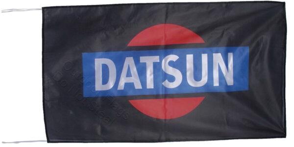 Flag  Datsun Landscape Black Flag / Banner 5 X 3 Ft (150 x 90 cm) Automotive Flags