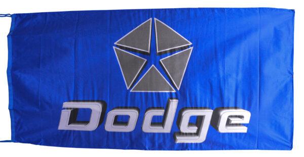 Flag  Dodge Landscape Blue Flag / Banner 5 X 3 Ft (150 x 90 cm) Automotive Flags