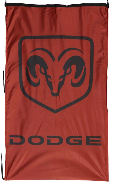 Flag  Dodge RAM Landscape Black Flag / Banner 5 X 3 Ft (150 x 90 cm) Automotive Flags