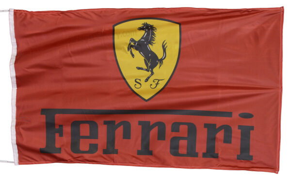 Flag  Ferrari Landscape Red Flag / Banner 5 X 3 Ft (150 x 90 cm) Automotive Flags
