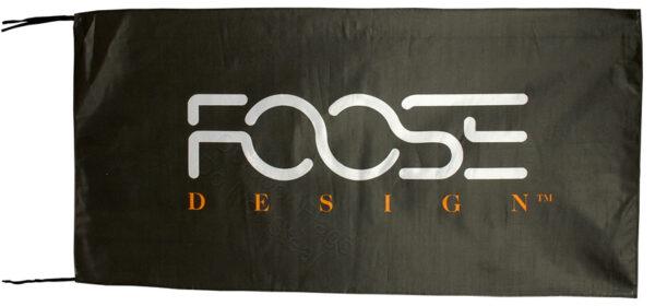 Flag  Foose Landscape Black Flag / Banner 5 X 3 Ft (150 x 90 cm) Automotive Flags