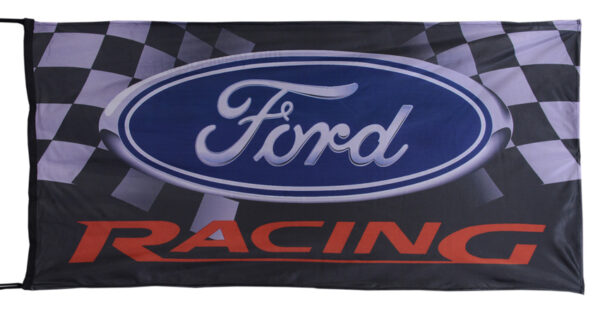 Flag  Ford Racing Landscape Flag / Banner 5 X 3 Ft (150 x 90 cm) Automotive Flags