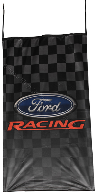 Flag  Ford Racing Vertical Flag / Banner 5 X 3 Ft (150 x 90 cm) Automotive Flags