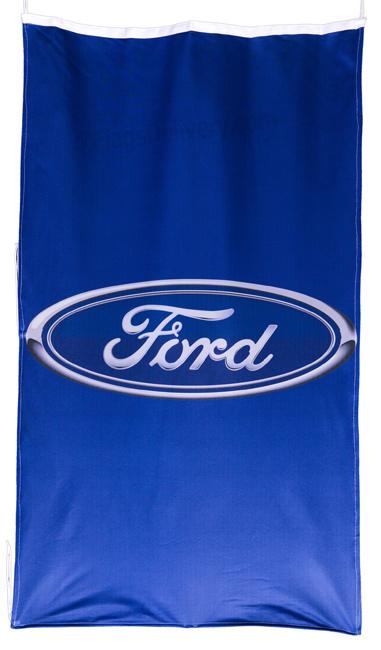 Flag  Ford Vertical Blue Flag / Banner 5 X 3 Ft (150 x 90 cm) Automotive Flags