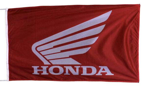 Flag  Honda Moto Landscape Red Flag / Banner 5 X 3 Ft (150 x 90 cm) Automotive Flags