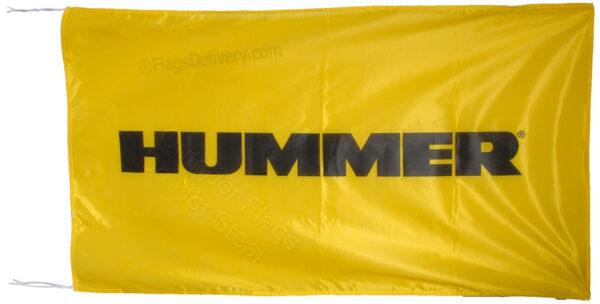 Flag  Hummer Landscape Yellow Flag / Banner 5 X 3 Ft (150 x 90 cm) Automotive Flags
