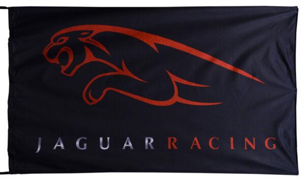 Flag  Jaguar Landscape Black Flag / Banner 5 X 3 Ft (150 x 90 cm) Automotive Flags