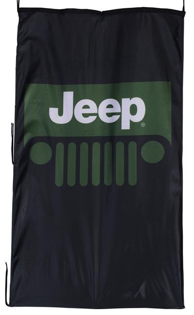 Flag  Jeep Vertical Black Flag / Banner 5 X 3 Ft (150 x 90 cm) Automotive Flags