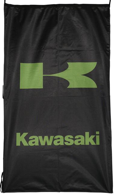 Flag  Kawasaki Vertical Black Flag / Banner 5 X 3 Ft (150 x 90 cm) Kawasaki