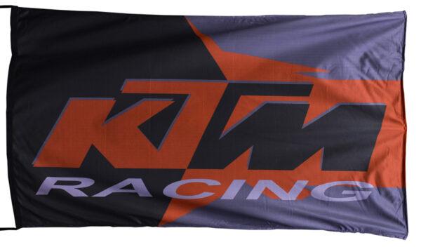 Flag  KTM Racing Landscape Flag / Banner 5 X 3 Ft (150 x 90 cm) KTM