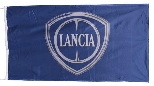 Flag  Lancia Landscape Blue Flag / Banner 5 X 3 Ft (150 x 90 cm) Automotive Flags