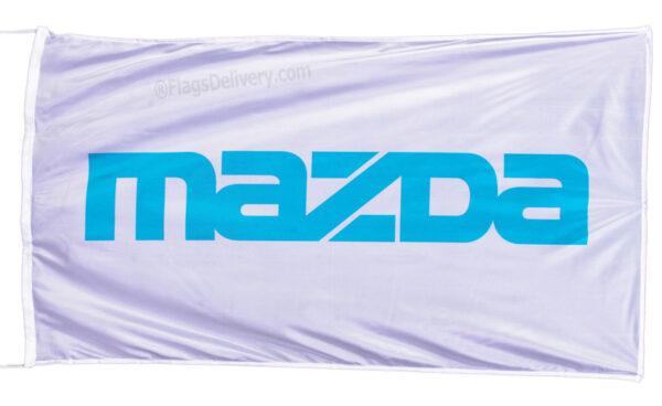 Flag  Mazda Vertical Cyan Flag / Banner 5 X 3 Ft (150 x 90 cm) Automotive Flags