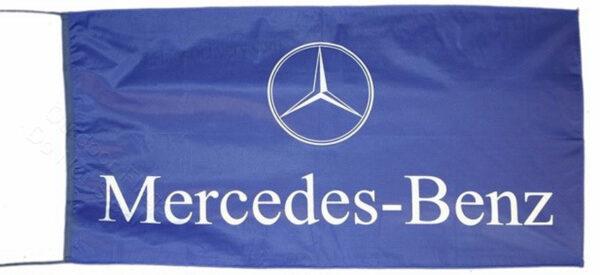 Flag  Mercedes Benz Landscape Blue Flag / Banner 5 X 3 Ft (150 x 90 cm) Automotive Flags