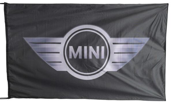Flag  Mini Cooper Landscape Black Flag / Banner 5 X 3 Ft (150 x 90 cm) Automotive Flags