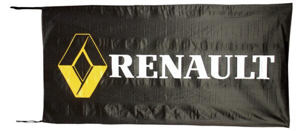 Flag  Renault Landscape Black Flag / Banner 5 X 3 Ft (150 x 90 cm) Automotive Flags