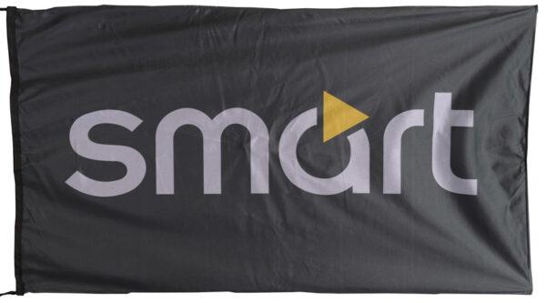 Flag  Smart Landscape Black Flag / Banner 5 X 3 Ft (150 x 90 cm) Automotive Flags