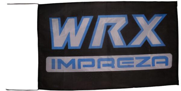 Flag  Subaru Wrx Impreza Landscape Black Flag / Banner 5 X 3 Ft (150 x 90 cm) Automotive Flags