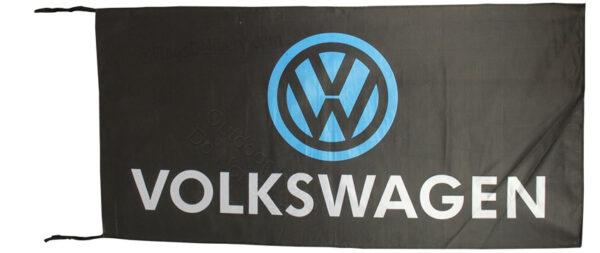 Flag  Volkswagen Landscape Black Flag / Banner 5 X 3 Ft (150 x 90 cm) Automotive Flags