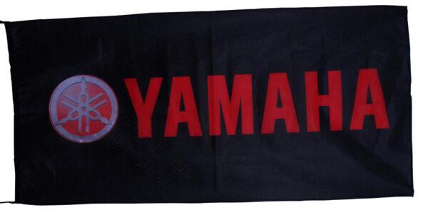 Flag  Yamaha Landscape Black Red Flag / Banner 5 X 3 Ft (150 x 90 cm) Motorcycle Flags