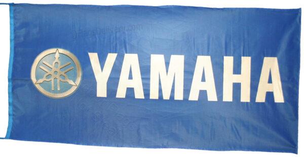 Flag  Yamaha Landscape Blue Flag / Banner 5 X 3 Ft (150 x 90 cm) Motorcycle Flags