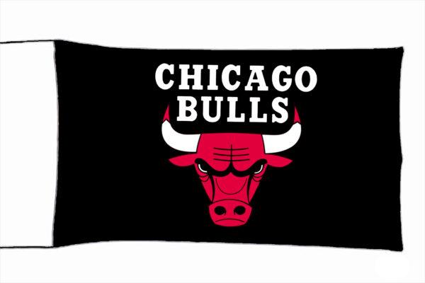 Flag  Chicago Bulls Landscape Black Flag / Banner 5 X 3 Ft (150 x 90 cm) Sport Flags