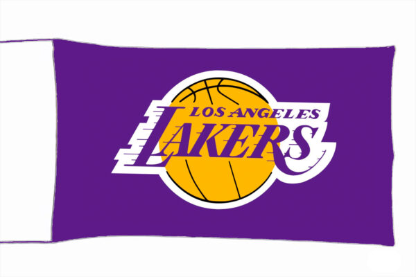 Flag  Los Angeles Lakers Landscape Flag / Banner 5 X 3 Ft (150 x 90 cm) Sport Flags