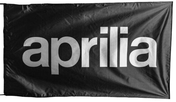 Flag  Aprilia Landscape Black Flag / Banner 5 X 3 Ft (150 x 90 cm) Aprilia