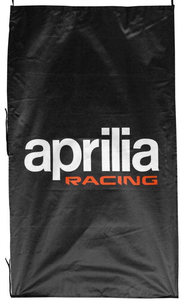 Flag  Aprilia Racing Vertical Black Flag / Banner 5 X 3 Ft (150 x 90 cm) Aprilia