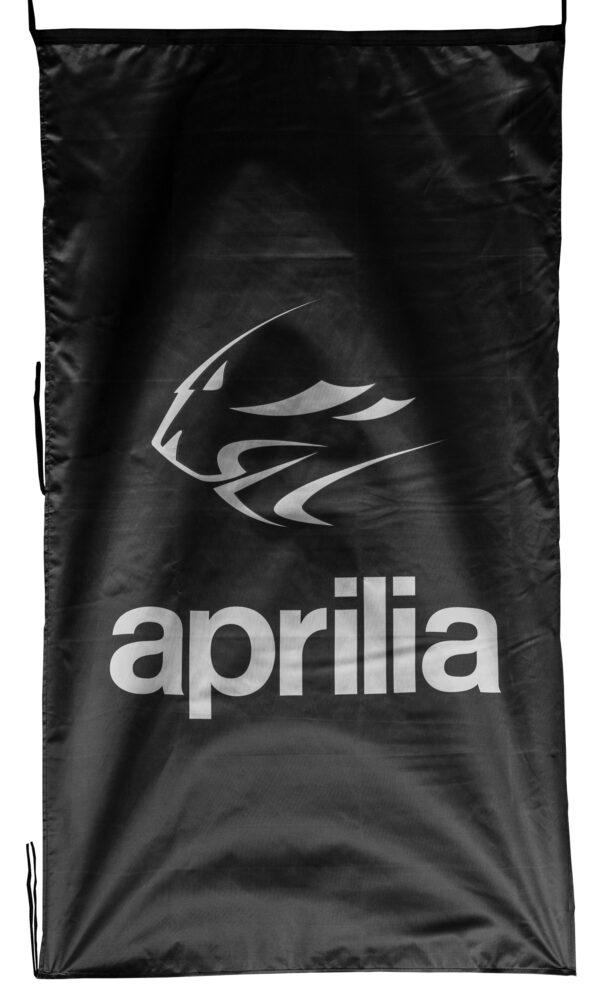 Flag  Aprilia Tiger Vertical Black Flag / Banner 5 X 3 Ft (150 x 90 cm) Aprilia