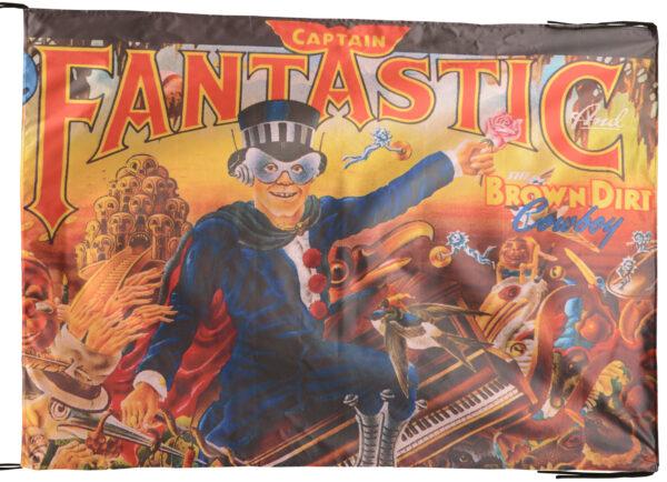 "Flag  Elton John ""Captain Fantastic"" Landscape Flag / Banner 5 X 3 Ft (150 x 90 cm) Music Flags"