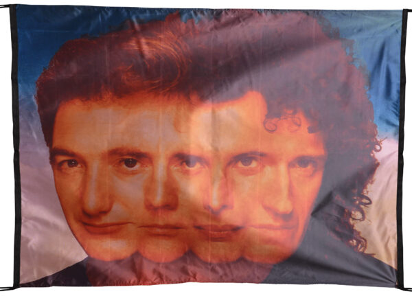 """Flag  Queen """"The Miracle"""" Landscape Flag / Banner 5 X 3 Ft (150 x 90 cm) Music Flags"""