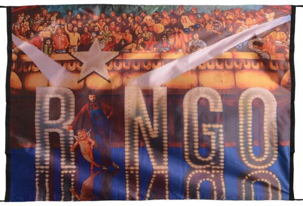 """Flag  Ringo Starr """"Ringo 1973"""" (The Beatles) Landscape Flag / Banner 5 X 3 Ft (150 x 90 cm) Music Flags"""