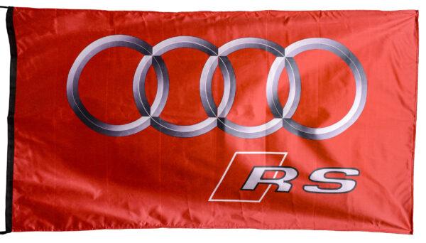 Flag  Audi RS Landscape Night City Flag / Banner 5 X 3 Ft (150 x 90 cm) (Copy) Audi