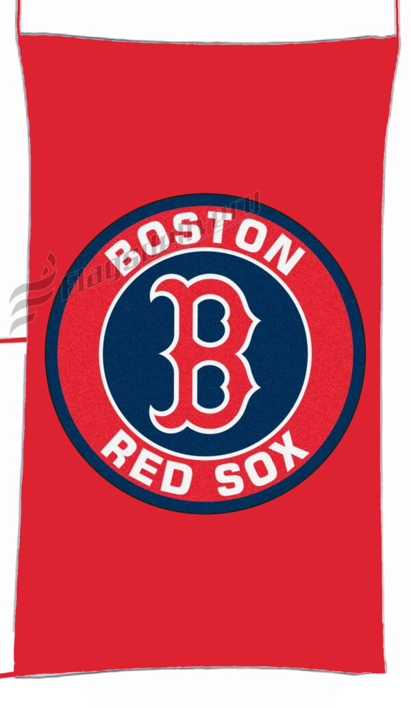Flag  Boston Red Sox Red Vertical Flag / Banner 5 X 3 Ft (150 X 90 Cm) Sport Flags