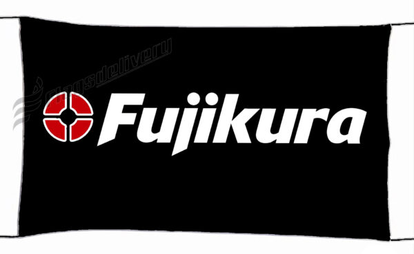 Flag  Fujicura Golf Black Landscape Flag / Banner 5 X 3 Ft (150 x 90 cm) Sport Flags