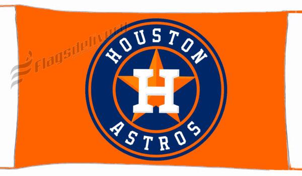 Flag  Houston Astros Orange Landscape Landscape Flag / Banner 5 X 3 Ft (150 X 90 Cm) Sport Flags