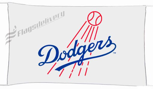 Flag  Los Angeles Dodgers Landscape Flag / Banner 5 X 3 Ft (150 X 90 Cm) Sport Flags