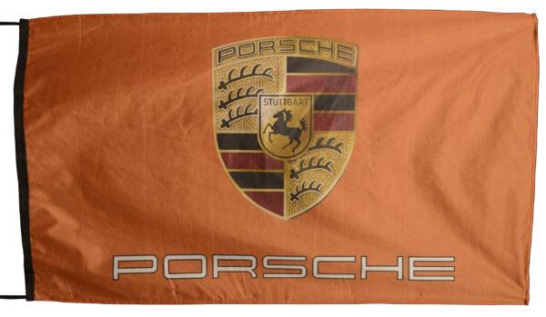 Flag  Porsche Landscape Orange Flag / Banner 5 X 3 Ft (150 x 90 cm) Automotive Flags