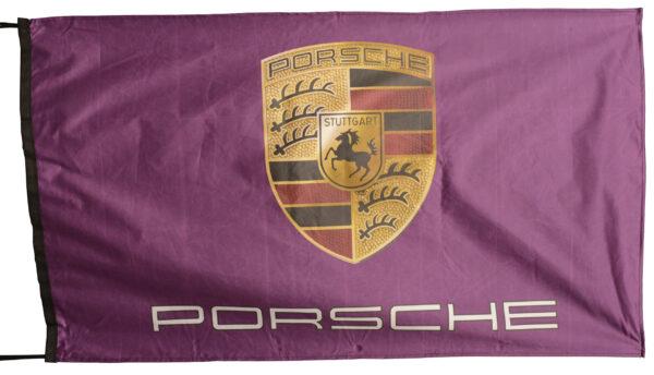 Flag  Porsche Landscape Purple Flag / Banner 5 X 3 Ft (150 x 90 cm) Automotive Flags