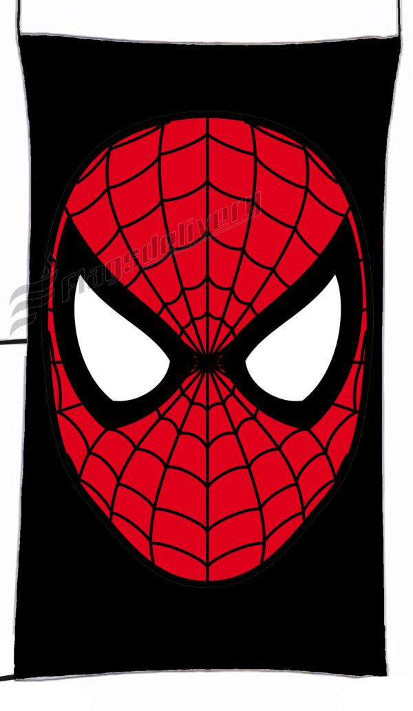 Flag  Spider Man Black Vertical Flag / Banner 5 X 3 Ft (150 X 90 Cm) TV, Movies & Celebrities Flags