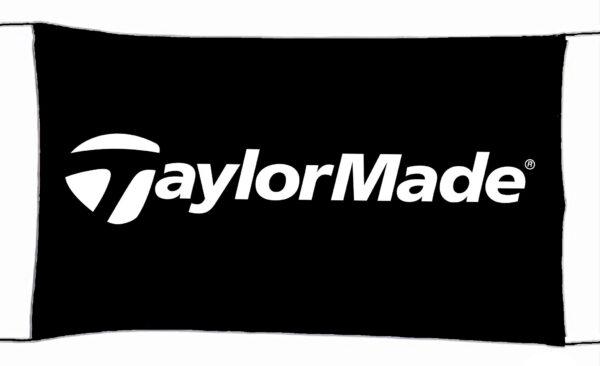 Flag  Taylormade Golf Black Landscape Flag / Banner 5 X 3 Ft (150 x 90 cm) Sport Flags